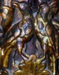 Mierle sau grauri pe o frunză
